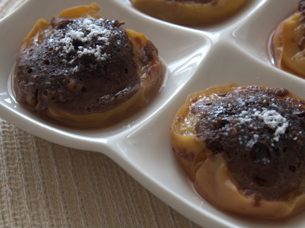 Old time stuffed peaches