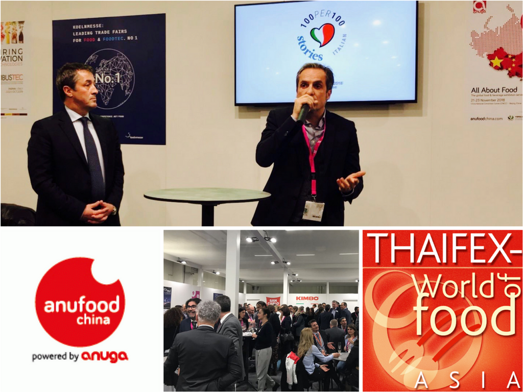I Love Italian Food & Koelnmesse to promote the real Italian Food