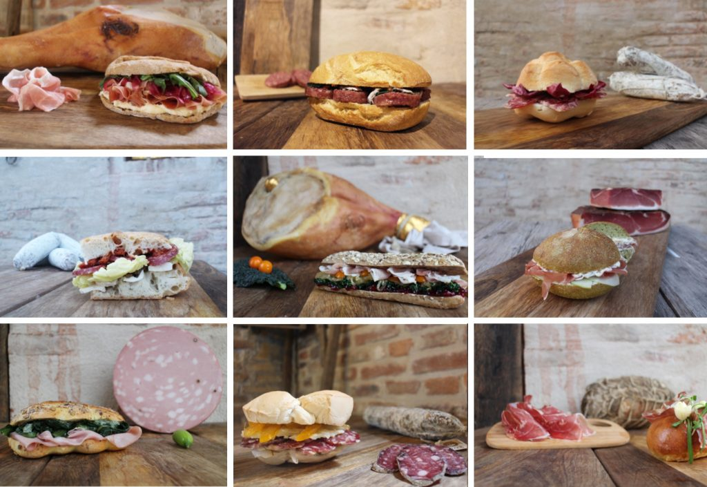 16 Chef for 16 Panini: a unique and tasty food experience whit PDO and PGI cured meats.