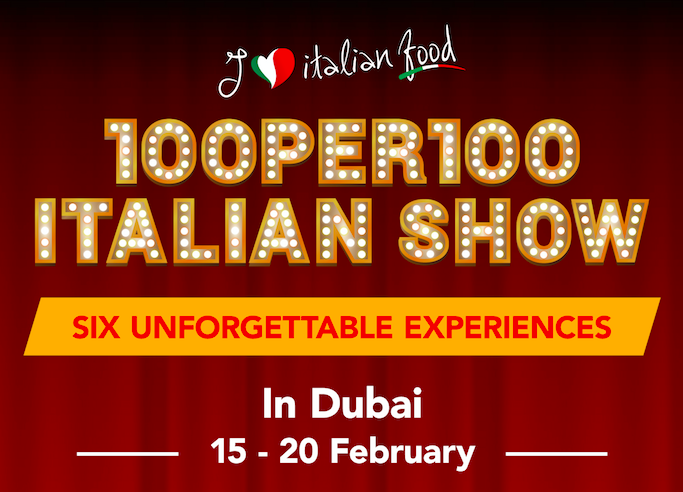 The 100per100 Italian Show in Dubai