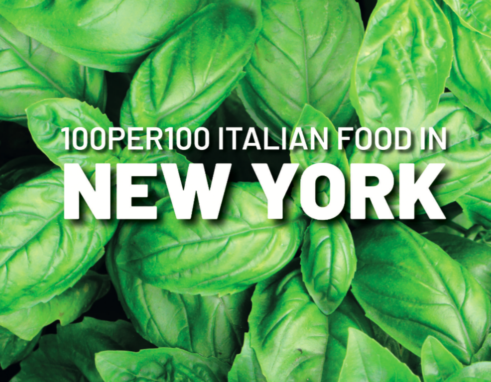 The 100 places to eat authentic Italian food in NY