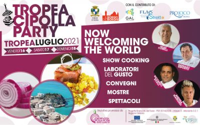 Partner of the Tropea Onion Party to present the Calabrian product of excellence to an international audience